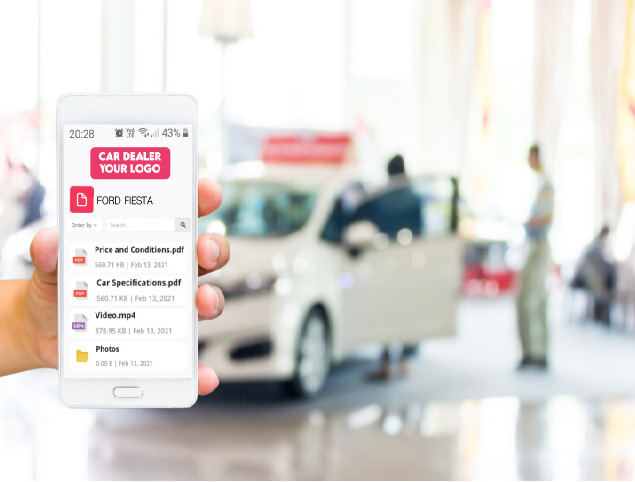 QR code generator for car dealers and reseller