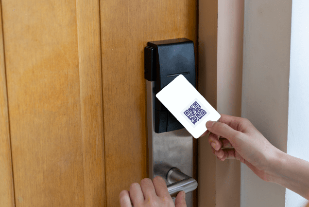 QR code generator for hotel and resorts - DocDrag