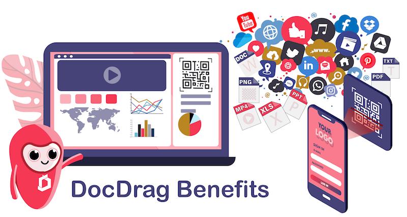 QR code generator and Shortlink generator for your business - DocDrag