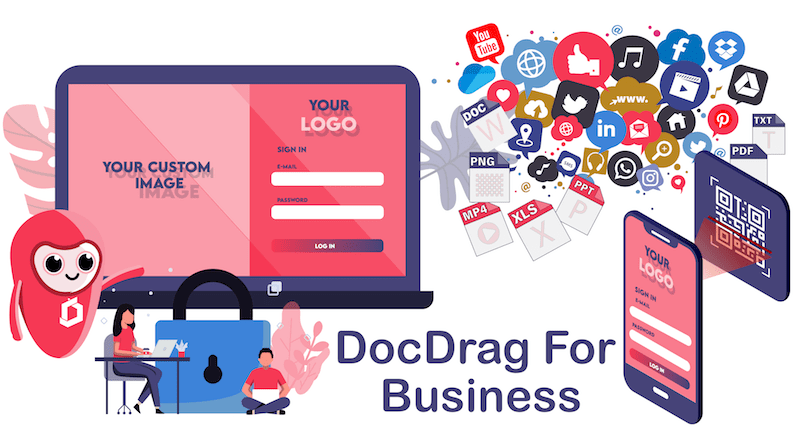 QR code generator and Shortlink generator for your business - DocDrag Platform