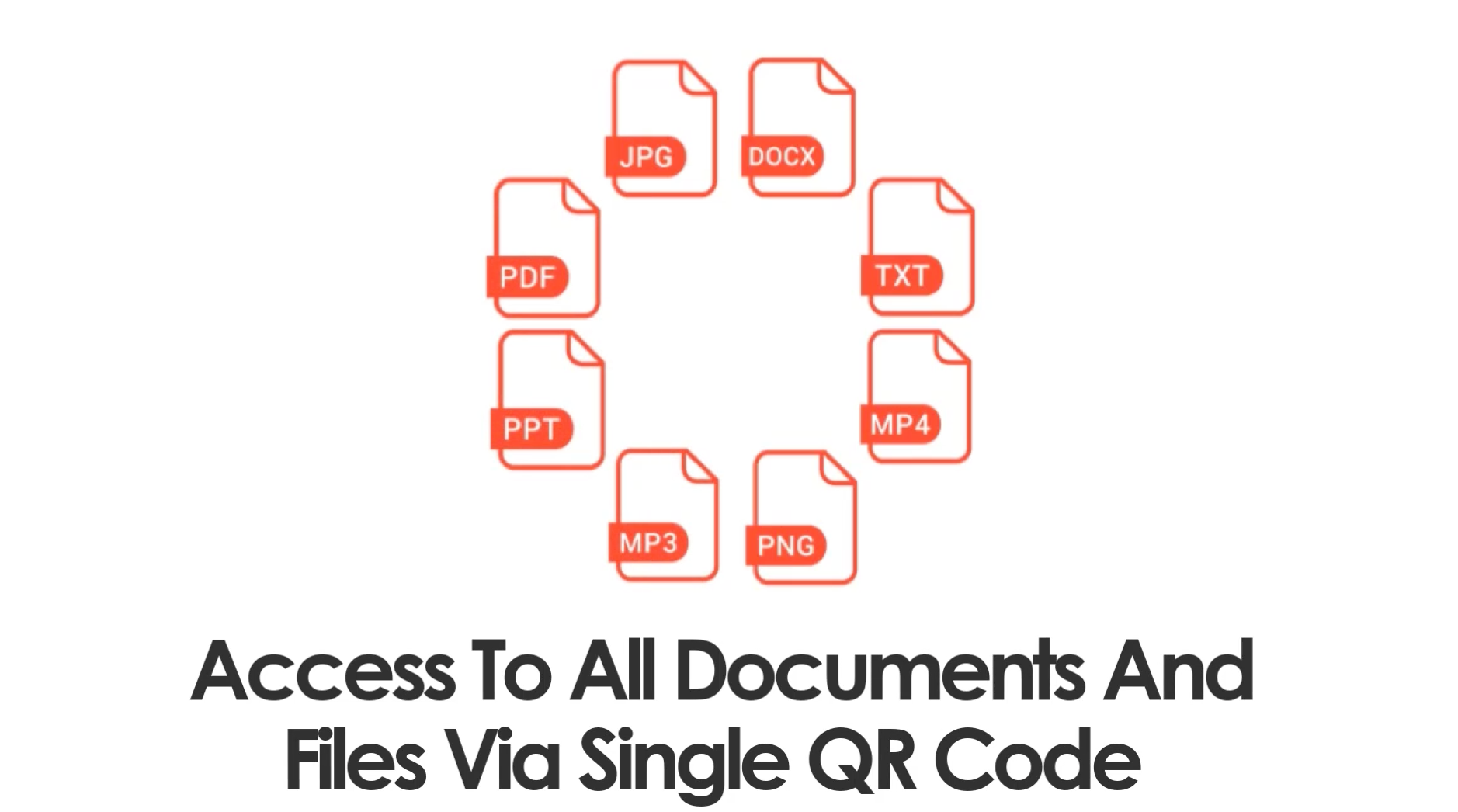 QR code for documents and files - DocDrag