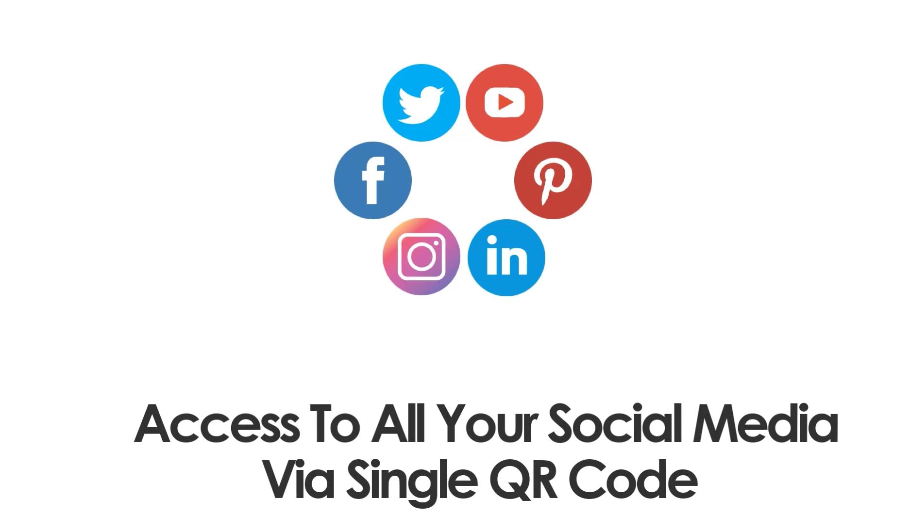 QR code for Social media - DocDrag